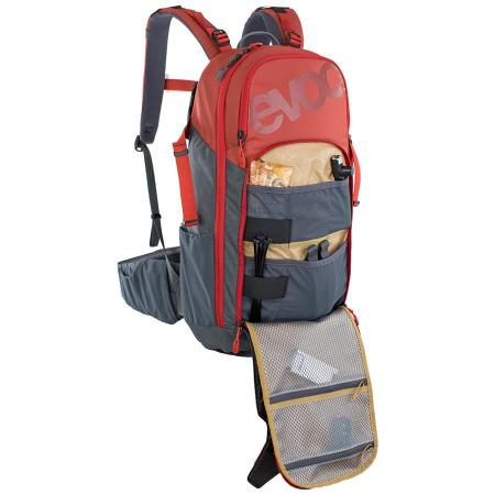 Evoc Neo 16L Backpack chili red/carbon grey