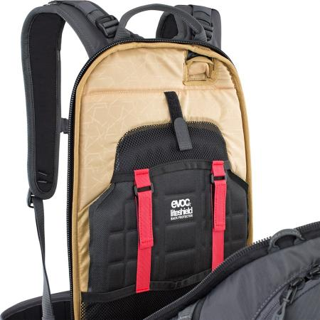 Evoc FR Pro Backpack carbon grey/chili red
