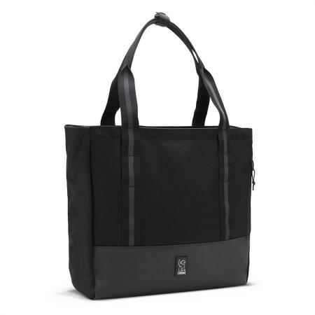 Chrome Civvy Messenger Tote black chrome