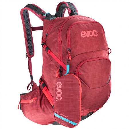 Evoc Explorer Pro Bike Rucksack - 26 Liter - heather ruby
