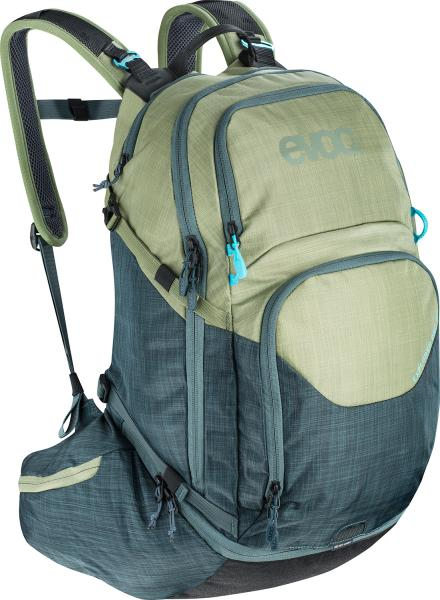 Evoc Explorer Pro Bike Backpack - 26 liters - heather olive/heather slate