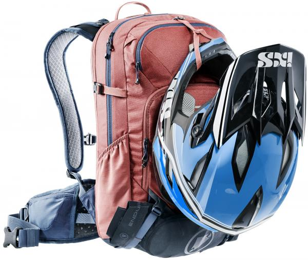 Deuter Velorucksack Attack 20 - redwood-marine