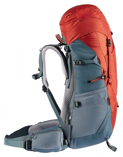 Deuter Aircontact Lite 45 + 10 SL Trekking Backpack Women - paprika-teal